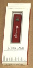 Chi Omega Portable Charger