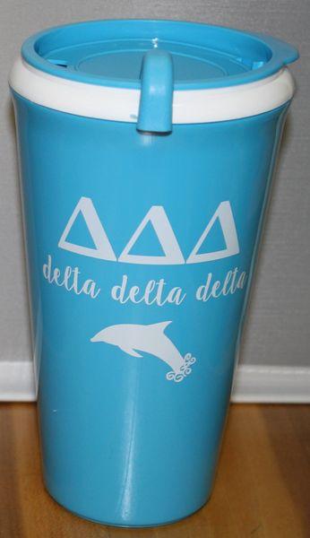Delta Delta Delta Coffee Tumbler