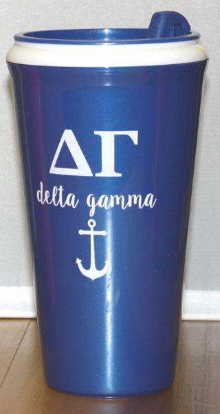 Delta Gamma Coffee Tumbler