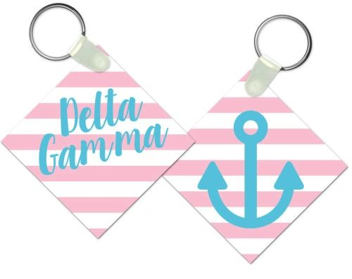 Delta Gamma Key Chain