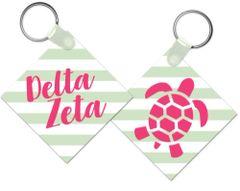 Delta Zeta Key Chain