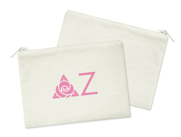 Delta Zeta Small Cosmetic Bag