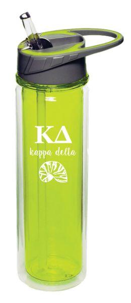 Kappa Delta Plastic Water Bottle