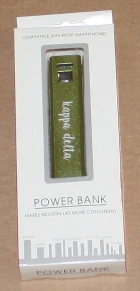 Kappa Delta Portable Charger