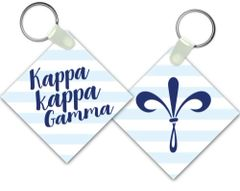 Kappa Kappa Gamma Key Chain