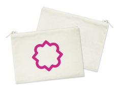 Phi Mu Small Cosmetic Bag