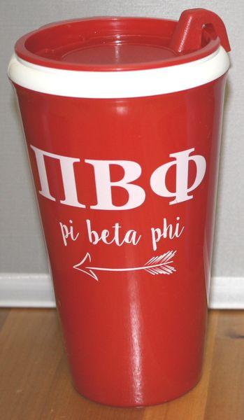 Pi Beta Phi Coffee Tumbler