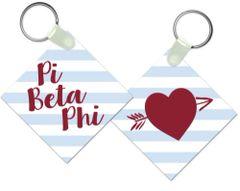 Pi Beta Phi Key Chain