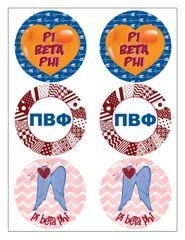 Pi Beta Phi Sticker Sheet