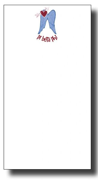 Pi Beta Phi Notepad - Skinny