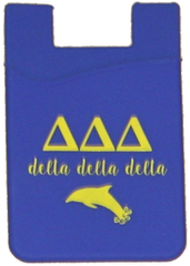 Delta Delta Delta Cell Phone Pocket