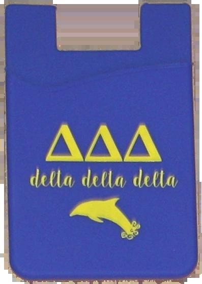 Delta Delta Delta Cell Phone Pocket