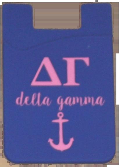Delta Gamma Cell Phone Pocket