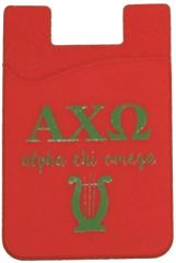 Alpha Chi Omega Cell Phone Pocket