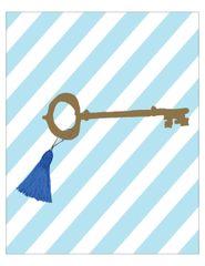 Kappa Kappa Gamma Key Poster