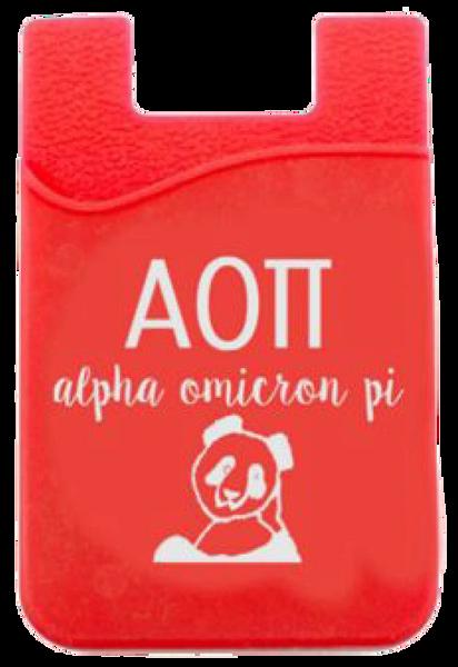 Alpha Omicron Pi Cell Phone Pocket