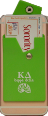 Kappa Delta Cell Phone Pocket with Snap Closure