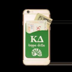 Kappa Delta Cell Phone Pocket - Dark Green