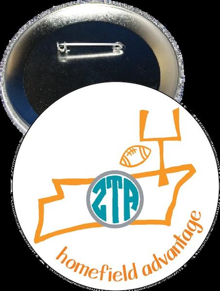 Zeta Tau Alpha Tennessee Homefield Advantage Gameday Button
