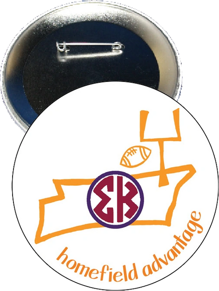 Sigma Kappa Tennessee Homefield Advantage Gameday Button