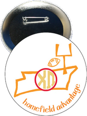 Chi Omega Tennessee Homefield Advantage Gameday Button