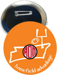 Alpha Omicron Pi Tennessee Homefield Advantage Gameday Button