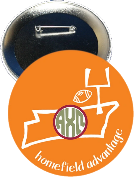 Alpha Chi Omega Tennessee Homefield Advantage Gameday Button