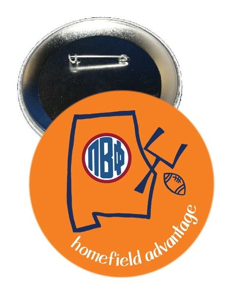 Pi Beta Phi Auburn Homefield Advantage Gameday Button