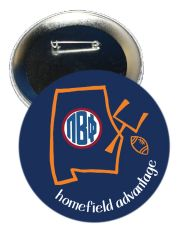 Pi Beta Phi Auburn Homefield Advantage Gameday Button
