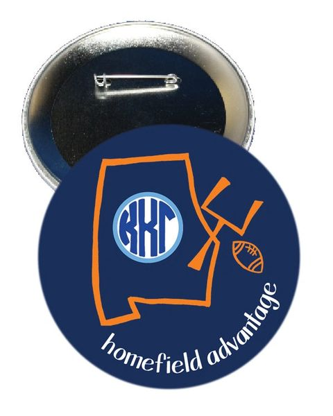 Kappa Kappa Gamma Auburn Homefield Advantage Gameday Button