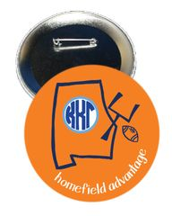 Kappa Kappa Gamma Auburn Homefield Advantage Gameday Button
