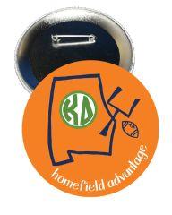 Kappa Delta Auburn Homefield Advantage Gameday Button