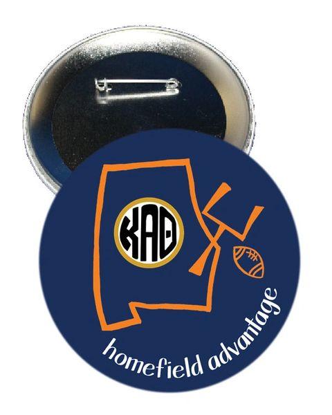 Kappa Alpha Theta Auburn Homefield Advantage Gameday Button