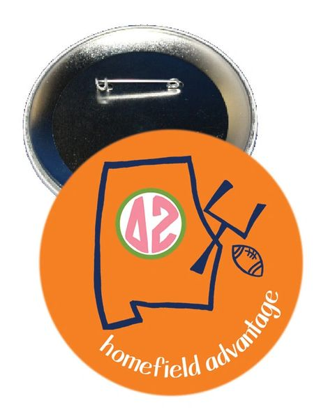 Delta Zeta Auburn Homefield Advantage Gameday Button