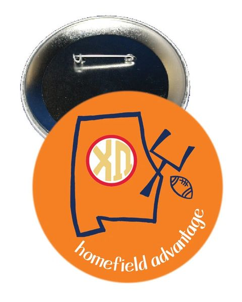 Chi Omega Auburn Homefield Advantage Gameday Button