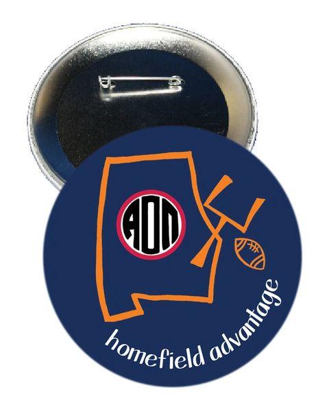 Alpha Omicron Pi Auburn Homefield Advantage Gameday Button