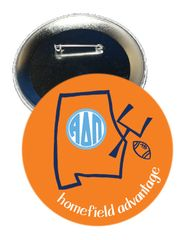 Alpha Delta Pi Auburn Homefield Advantage Gameday Button