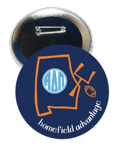 Alpha Delta Pi Auburn Homefield Advantage Gameday Button