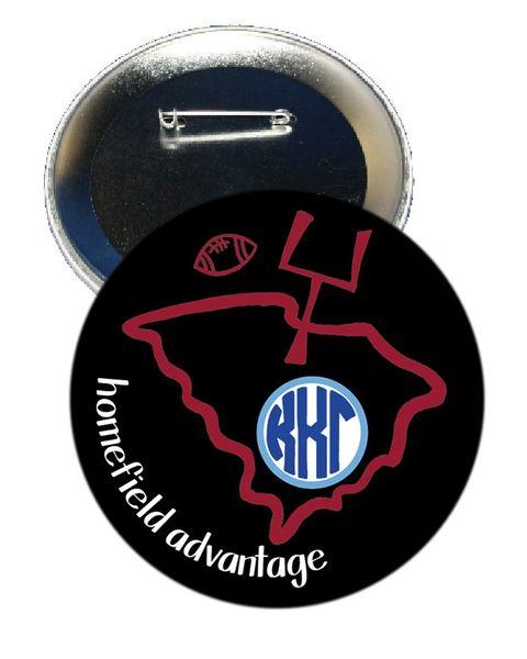 Kappa Kappa Gamma South Carolina Homefield Advantage Gameday Button