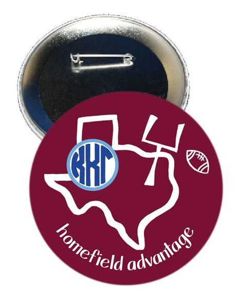 Kappa Kappa Gamma Texas A&M Homefield Advantage Gameday Button