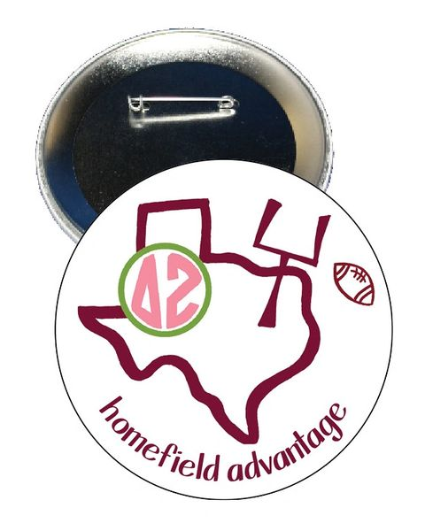 Delta Zeta Texas A&M Homefield Advantage Gameday Button