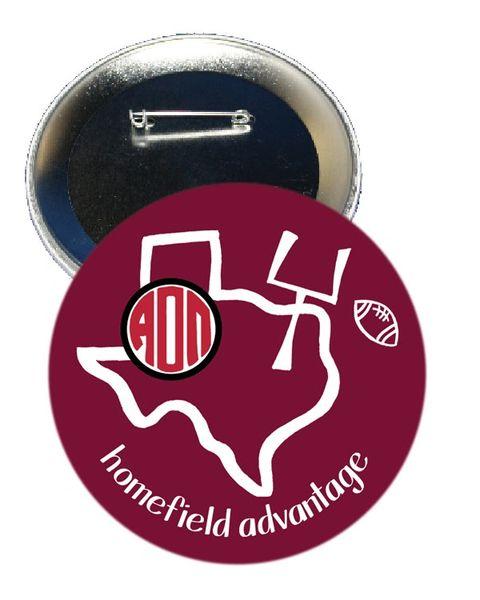 Alpha Omicron Pi Texas A&M Homefield Advantage Gameday Button