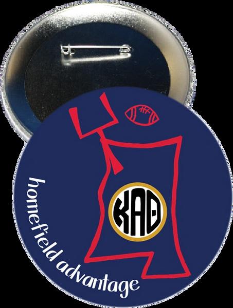 Kappa Alpha Theta Ole Miss Homefield Advantage Gameday Button