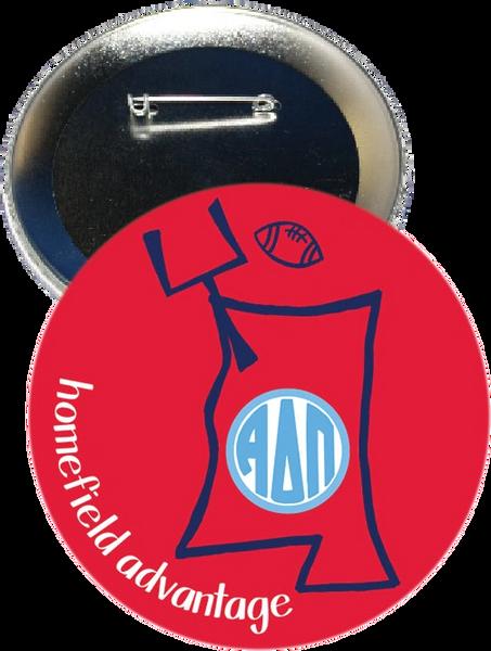 Alpha Delta Pi Ole Miss Homefield Advantage Gameday Button