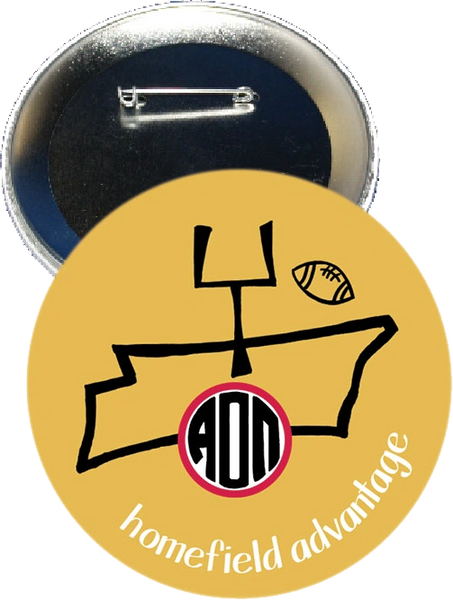 Alpha Omicron Pi Vanderbilt Homefield Advantage Gameday Button