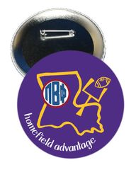 Pi Beta Phi LSU Homefield Advantage Gameday Button