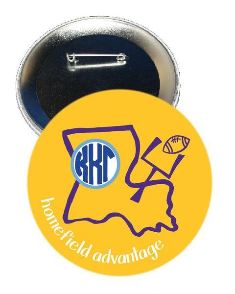 Kappa Kappa Gamma LSU Homefield Advantage Gameday Button