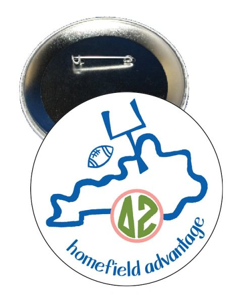 Delta Zeta Kentucky Homefield Advantage Gameday Button