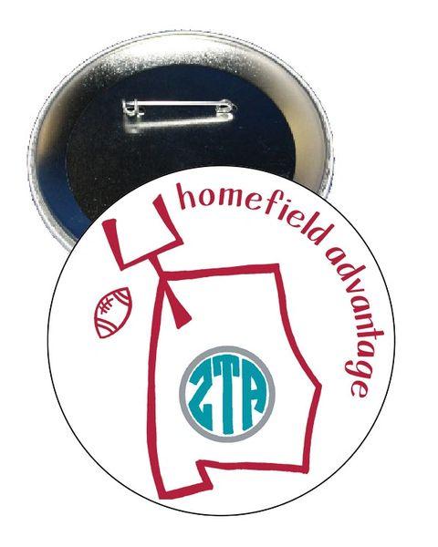 Zeta Tau Alpha Alabama Homefield Advantage Gameday Button