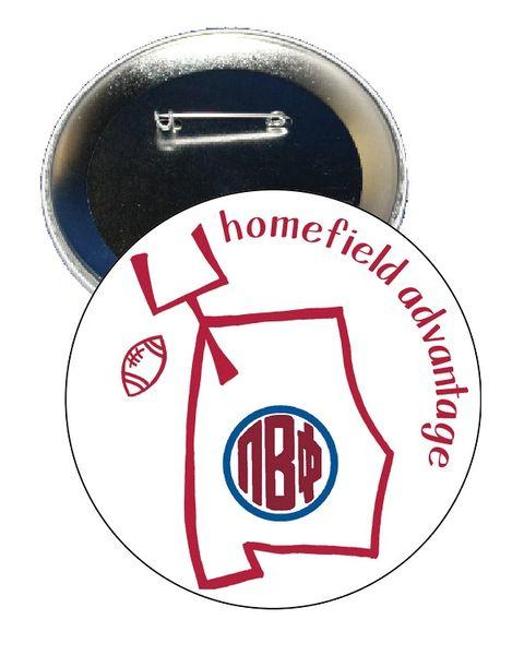 Pi Beta Phi Alabama Homefield Advantage Gameday Button